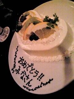 ブーケブランのケーキ