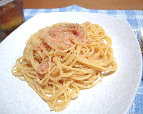 たらこスパゲティ1