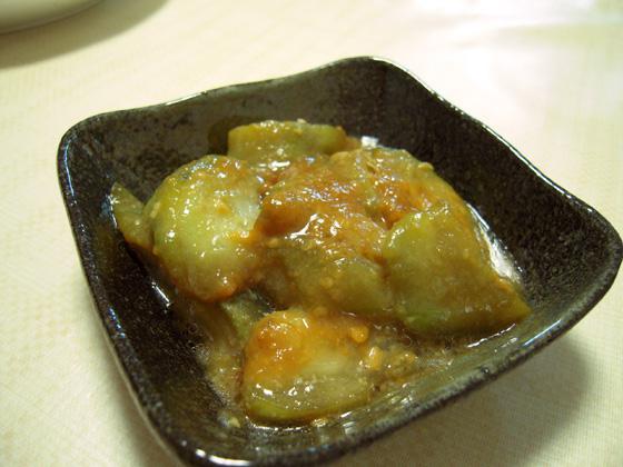 ヘチマの味噌煮