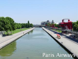 パリ ラビレット 運河