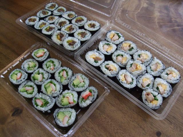ピクニック 巻き寿司