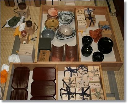 陶器のコレクション