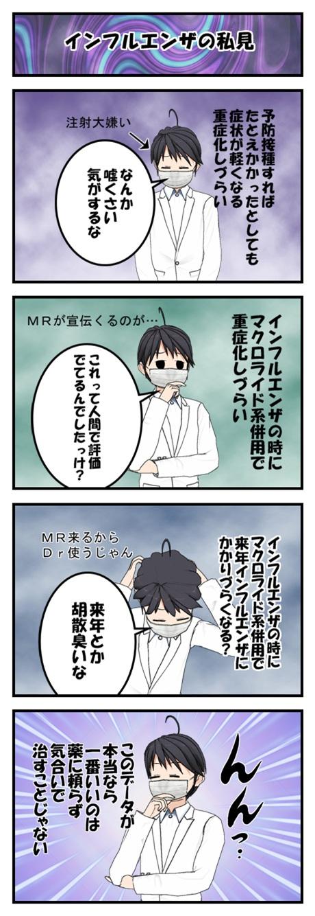 インフルエンザについての疑惑