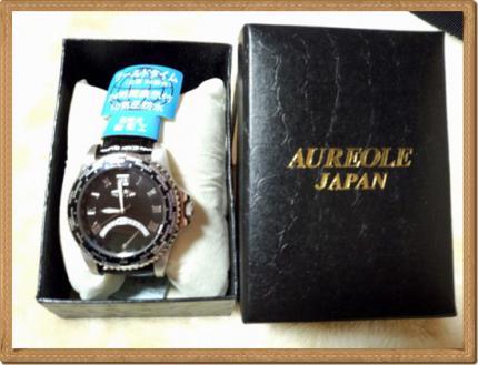 20130306特別表彰腕時計