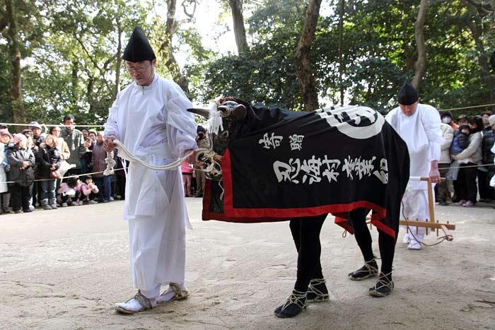 笛吹神社 御田植祭3