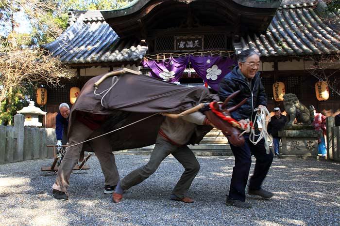 池神社 御田植祭2