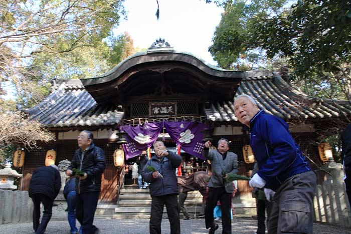 池神社 御田植祭3