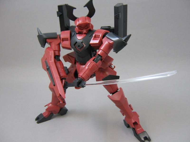 武士 素組み 剣4