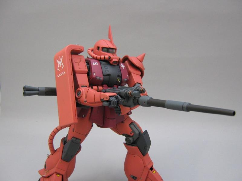 MGシャアザク1 MT砲1