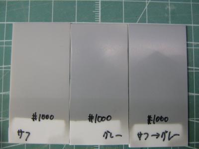 実験 表面処理 1000