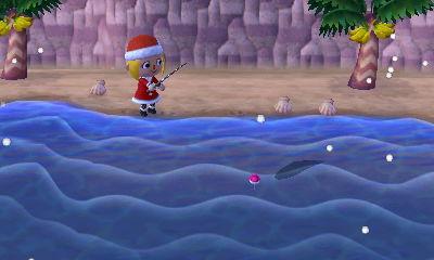 大きな魚影