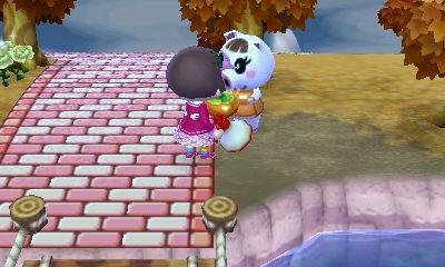 ルーシーからカキもらった!