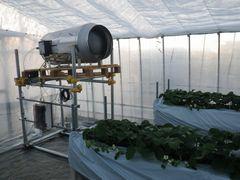 [写真]暖房機兼二酸化炭素発生機