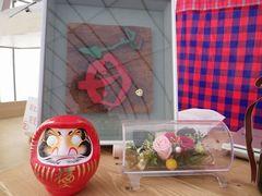 [写真]菊池邑僊先生からいただいた高崎だるま