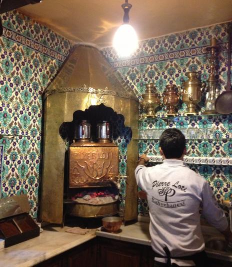 カフェ(山の)厨房