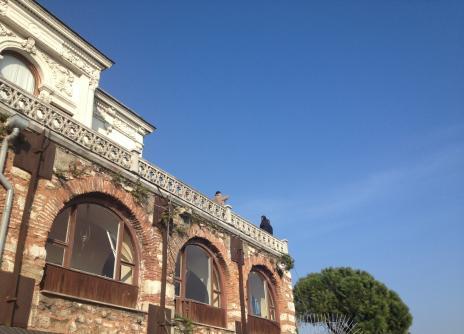 トプカプ宮殿1青空