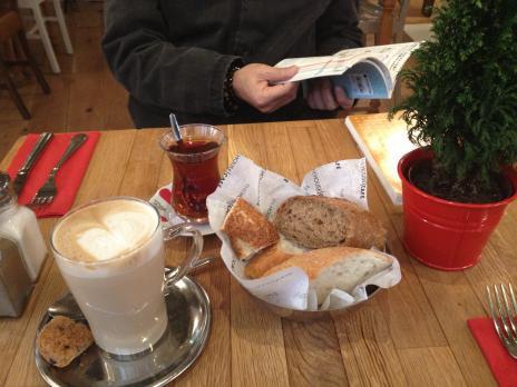 朝食おしゃれカフェ、チャイ