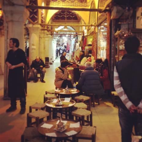 カフェ、トルコスタイル