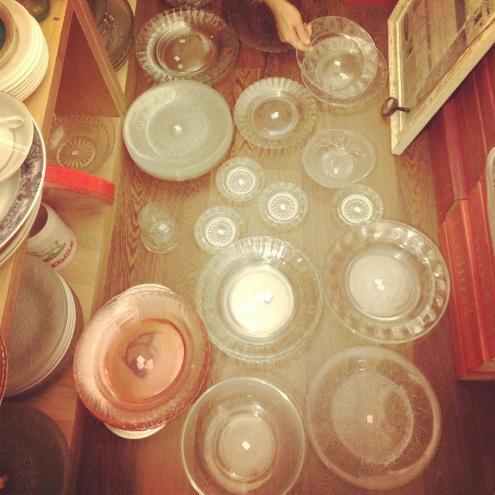 皿やり直し