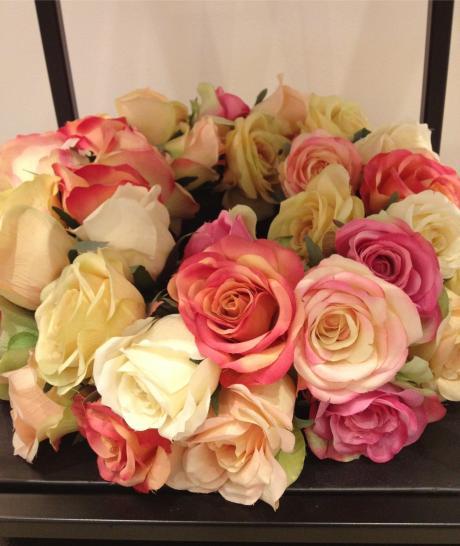 ホテルの花ローズリース