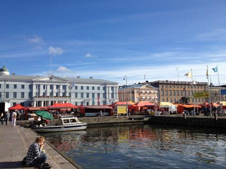 ヘルシンキ港1