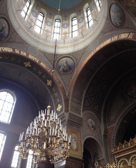 大聖堂の中1