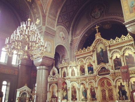 大聖堂の中2