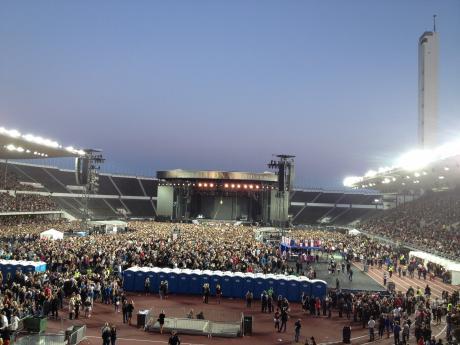 マドンナのコンサート