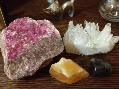 石4種とピアス