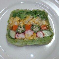 夏野菜ジュレ