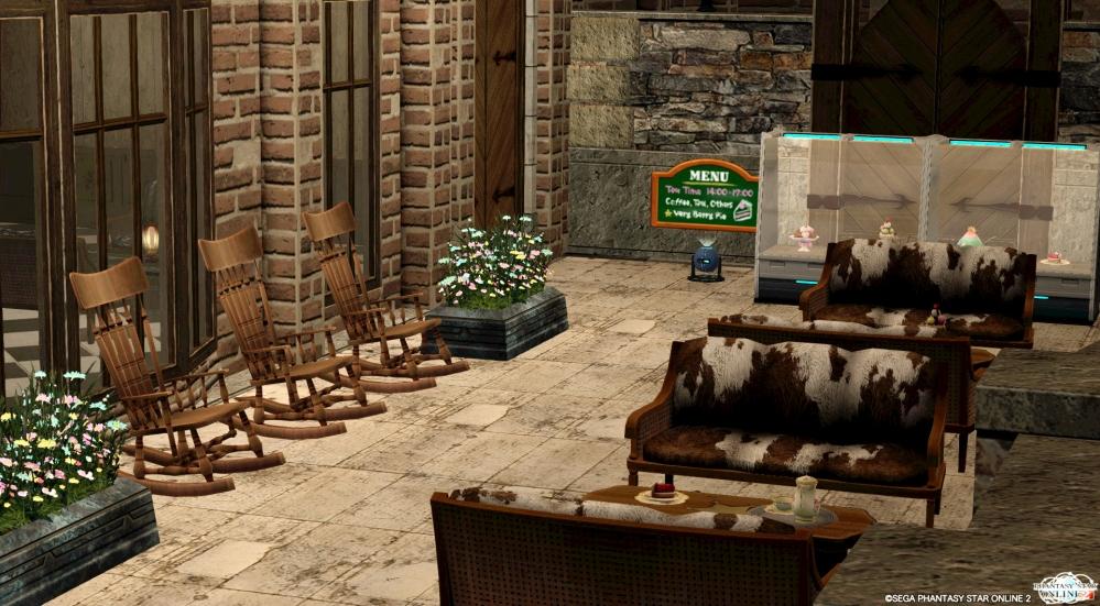 右部屋バルコニーカフェ