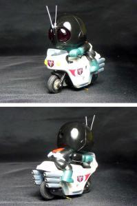 仮面ライダー倶楽部 カッとびライダー 仮面ライダー1号