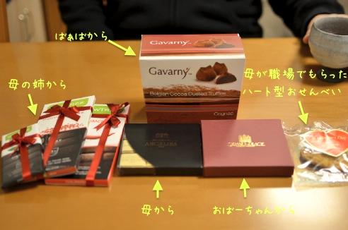父へのチョコレート