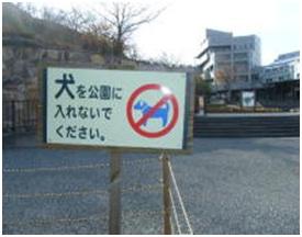 愛媛県松山総合公園とは?虐待をあおる看板が数々!石を投げられ死んだ白猫や両耳をそがれた猫がいます038