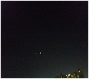 犬達のSOS金星と木星が大接近不思議な流れ星と海・姫ちゃんモーちゃん写真集携帯カメラマンミーママ012