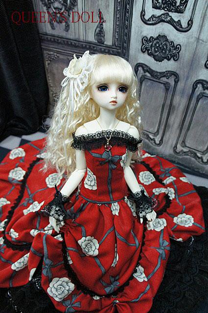 SDGrウナ 真紅ドレス4