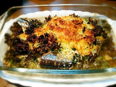 秋刀魚のプロヴァンス風オーブン料理