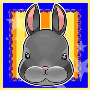 黒いウサギさんへ-アイコン