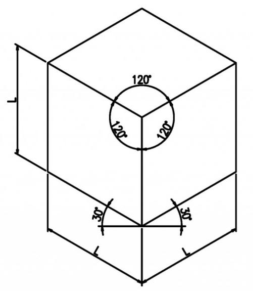 軸測投影図