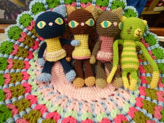 編みぐるみ猫
