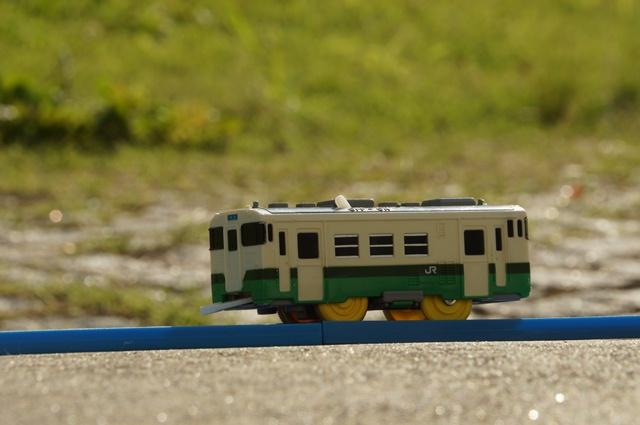 軽便鉄道が走っていた丘とぷらレール
