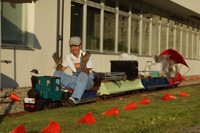 最終列車-用具運搬