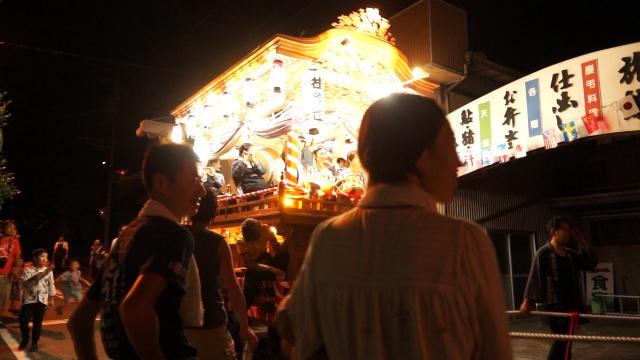 佐久間祭と山車