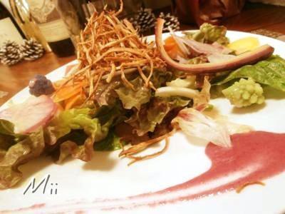 12クーリ前菜サラダ