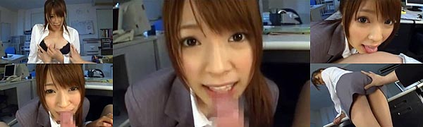 OLフェラ動画