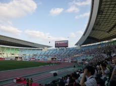 長居競技場の日本陸上