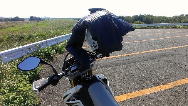 朝バイク!