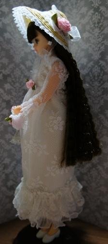 オールレースワンピース(ノースリーブ)セット ホワイト