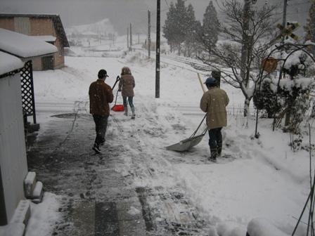 20130103雪かき