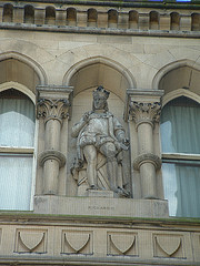 Bradford City Hall detail-Richard III